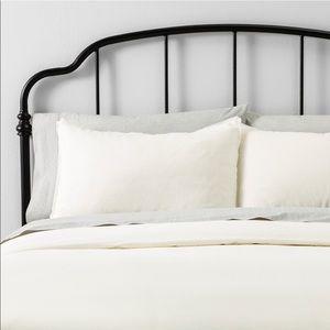 Hearth & Hand Solid Linen Blend Duvet Cover & Sham